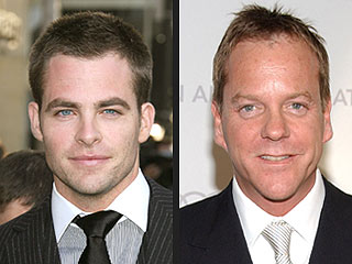 Chris Pine, Kiefer Sutherland Teaming Up