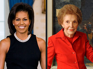 Michelle Obama Invites Nancy Reagan to Lunch