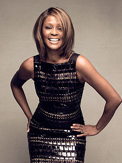Whitney Houston Back in Form for CD Launch