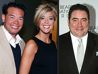 Jon & Kate Plus Eight: The Couple Share a Family Meal — But Not the Interview Chair