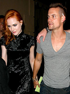 Evan Rachel Wood Cozies Up to Shane West
