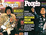Michael Jackson&#39;s Life in PEOPLE Covers
