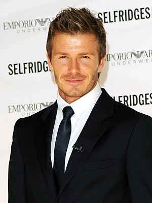 David Beckham Involved in Freeway Car Accident