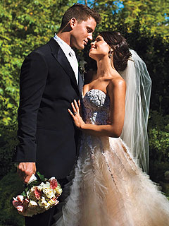 PHOTO: Channing Tatum and Jenna Dewan on Their Wedding Day!