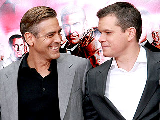 Matt Damon Loves George Clooney's Girlfriend| Couples, Elisabetta Canalis, George Clooney, Matt Damon