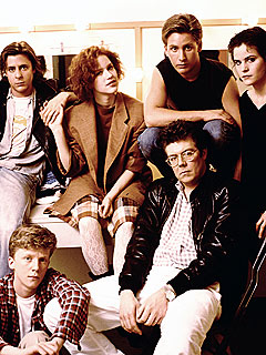 John Hughes With The Breakfast Club
