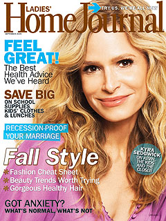Kyra Sedgwick Teary About Work-Family Divide