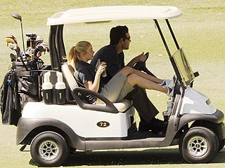 LeAnn Rimes and Eddie Cibrian Take Their Love to the Links