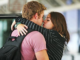 Miley Cyrus and Liam Hemsworth's First Kiss Was Filmed
