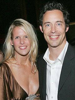 Tom Cavanagh with beautiful, cute, kind, Wife Maureen Grise