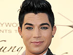 Adam Lambert Entertains His Nephew at Dinner