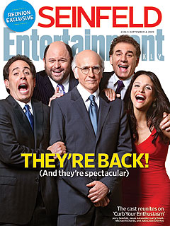 First Peek at Seinfeld Cast Reunion