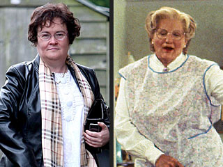 POLL: Should Robin Williams Play Susan Boyle on Film?
