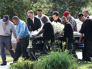 Travis Barker, DJ AM's Family Attend Funeral