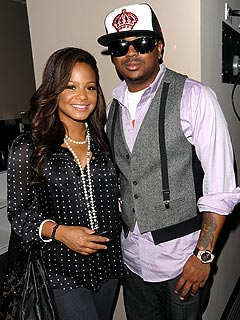 Christina Milian &#38; Husband The-Dream on the Rocks