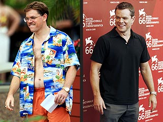 Matt Damon Says Gaining 30 Lbs. Was Easy – and Fun
