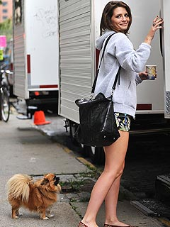Mischa Barton Sweet on the Big Apple | Mischa Barton