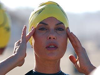 Teri Hatcher Training for Triathlon | Teri Hatcher