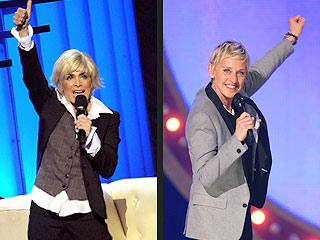 Paula Abdul Channels Ellen DeGeneres