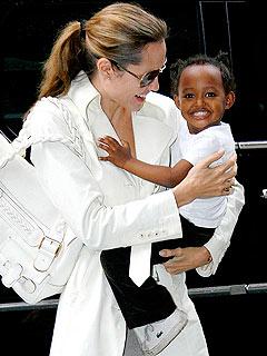 Angelina Jolie Takes Zahara to Ethiopia