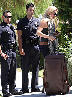 LeAnn Rimes in Minor Traffic Accident
