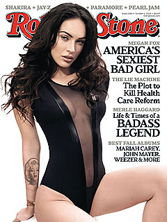 Megan Fox Admits She Cut Herself