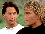 Keanu Reeves Recalls Swayze as 'A Beautiful Person'