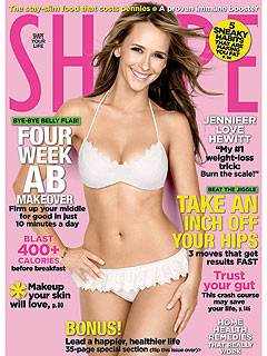 Jennifer Love Hewitt: My Boyfriend Helps Me Diet