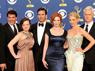 Mad Men and 30 Rock Named TV&#39;s Top Shows | Christina Hendricks, Elisabeth Moss, January Jones, Jon Hamm