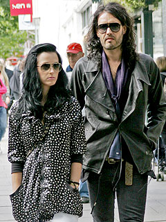 Katy Perry and Russell Brand Heat Up in Paris