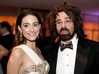 Emmy Rossum couple