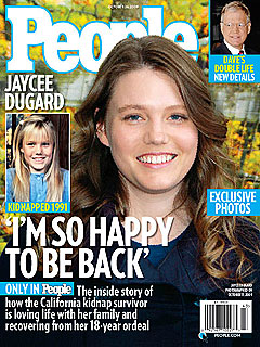First Photo: Kidnap Survivor Jaycee Dugard Emerges from the Shadows