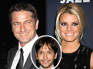 BUZZ: Gerard Butler & Jessica Simpson Rub Elbows in N.Y.C.