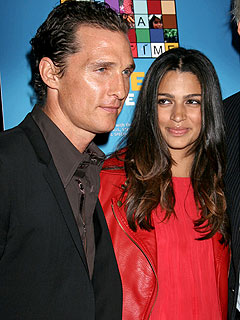 Matthew McConaughey's Red-Hot Date Night!