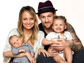 FIRST PHOTOS: Nicole Richie and Joel Madden Introduce Baby Sparrow!| Babies, Joel Madden, Nicole Richie