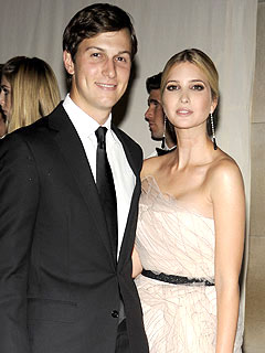 Ivanka Trump & Jared Kushner Seal the Deal at Reception No. 2