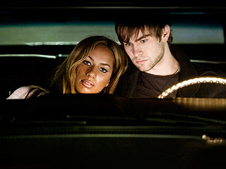 Leona Lewis Turns Down Chance to Kiss Chace Crawford