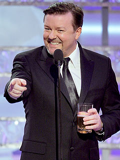 Ricky Gervais's Secret for Hosting the Golden Globes: Insults