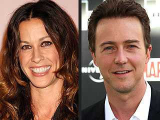 Stars Run for Fun ... and Good Causes | Alanis Morissette, Edward Norton