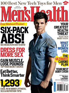 Taylor Lautner 'Six-Packs' It on for New Moon| The Twilight Saga: New Moon, Bodywatch, Taylor Lautner