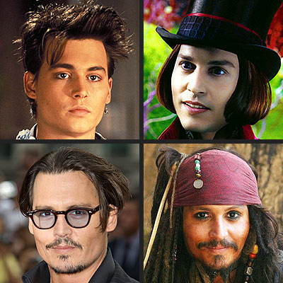 POLL: What's Johnny Depp's Hottest Look?