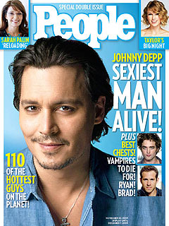 The Sexiest Man Alive: Johnny Depp