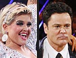 Kelly, Mya and Donny Shine in Final Dancing Performances