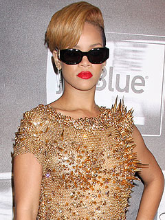 Rihanna Shows Up Fashionable – and Fashionably Late – for Album Party