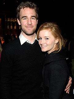 James Van Der Beek Steps Out with New Girlfriend