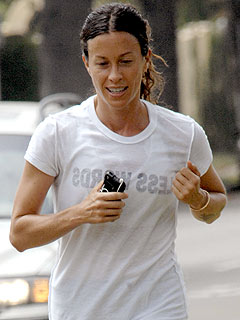 Alanis Morissette Gets High from Running – and the Occasional Joint