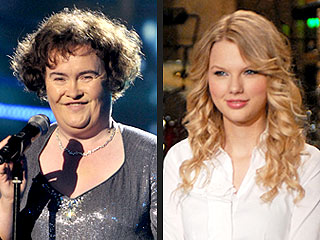 Who'll Lead Record Sales, Susan Boyle or Taylor Swift?