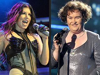 Fantasy Grammy Duets: Taylor & Kanye! Fergie & Susan Boyle! | Fergie, Susan Boyle