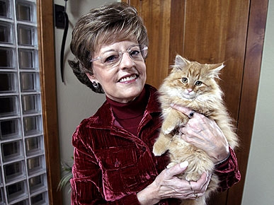 'Dewey' Author Adopts New Kitten Named Page