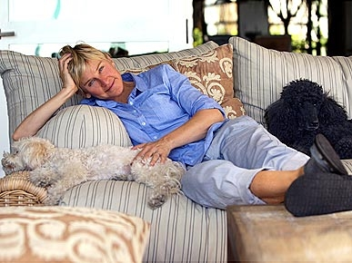 EXCLUSIVE! Ellen DeGeneres Chats About Her Pets